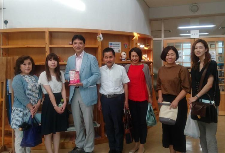 講師の今井一彰先生と当院のスタッフ